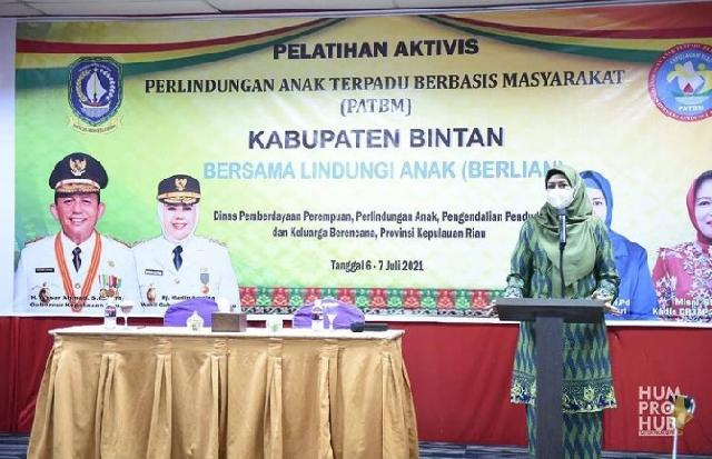 Ketua TP PKK Kepri Hj Dewi Dorong Perlindungan Anak Dilakukan Secara Bersama-sama