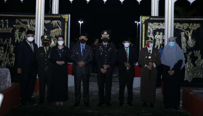 Wakil Ketua DPRD Inhil Hadiri Apel Kehormatan dan Malam Renungan Suci