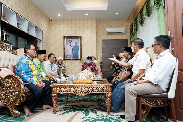 Pemerintah Kabupaten Inhil Gelar Jamuan Sambut Kedatangan Ketua DPP KKSS Pusat