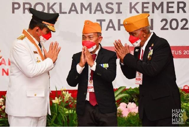 Gubernur Kepri H Ansar Ahmad Harap Para Veteran Dapat Selalu Berikan Masukan dan Nasehat untuk Pembangunan Kepri