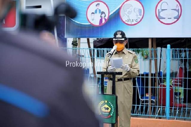 1 Juni Hari Lahir Pancasila, Bupati HM Wardan Launching New Normal Pasca Pendemi Covid-19