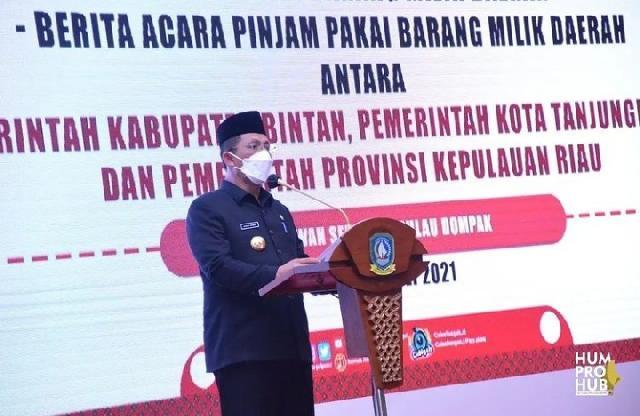 Gubernur Kepri H. Ansar Ahmad Harap Pengelolaan Barang Milik Daerah Akan Semakin Baik dan Meningkat