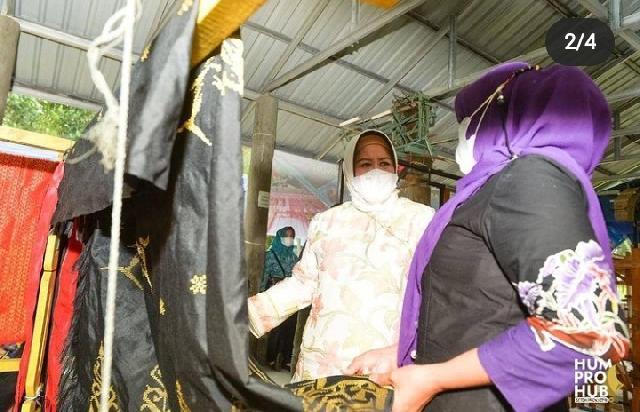 Wagub Kepri Hj Marlin Agustina Ingin UMKM di Kepri Terus Diberi Pelatihan