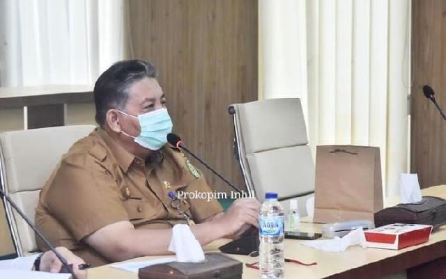 Sekda Inhil Pimpin Rapat Forum Kemitraan Tingkat Kabupaten
