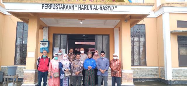 Kunjungan Dinas Perpustakaan dan Arsip Daerah ke Perpustakaan Harun Al-Rasyid